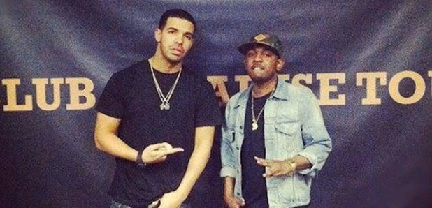 Kendrick Lamar and Drake