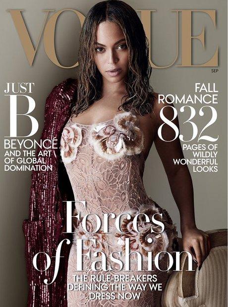 Beyonce VOUGUE 2015