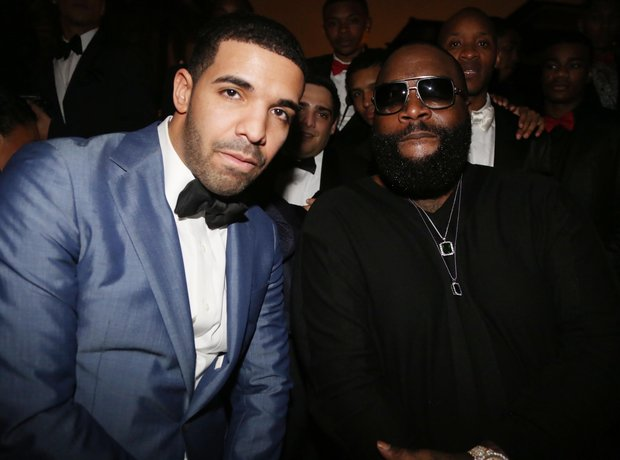 Drake and Rick Ross