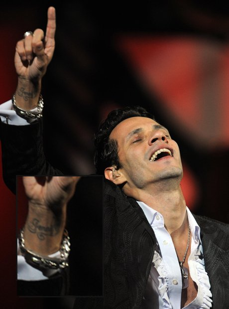 Marc Anthony Jennifer Lopez tattoo