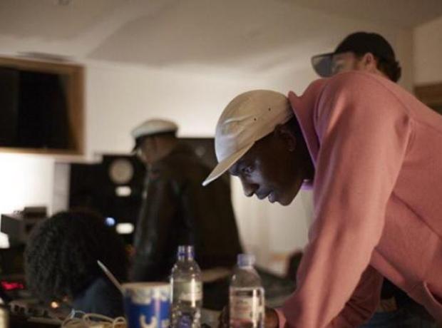 Skepta Pharrell Studio