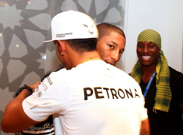 Lewis Hamilton Pharrell