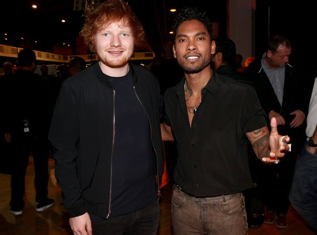 Miguel and Ed Sheeran