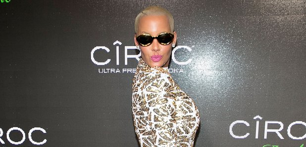 Amber Rose at p diddy party