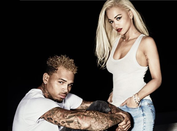 Rita Ora Chris Brown