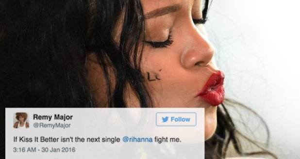 Rihanna kiss it better