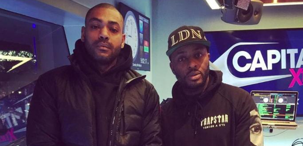 Manny Norte Kano in capital xtra studio