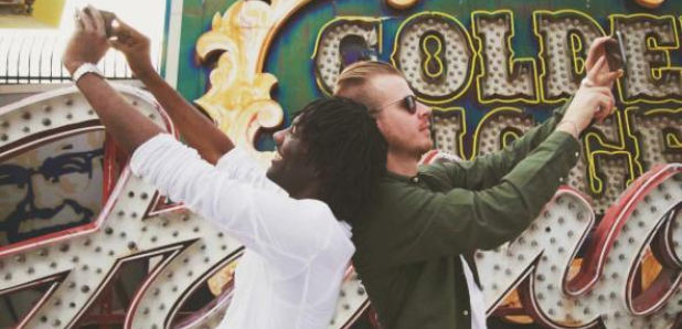 Wretch 32 and Wilkinson taking selfies