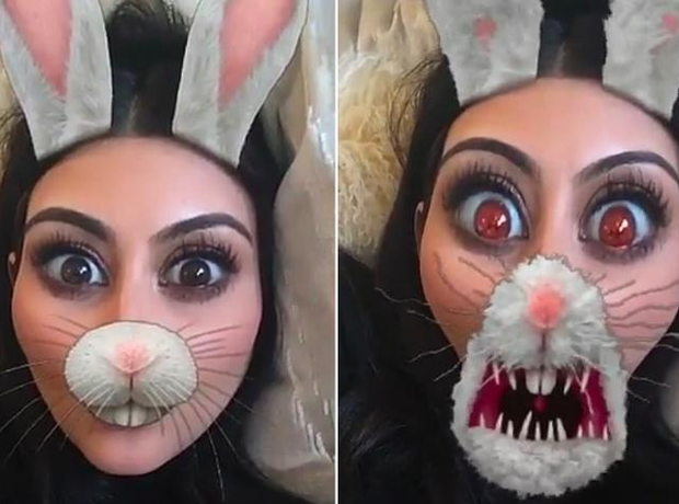 Kim Kardashian Snapchat