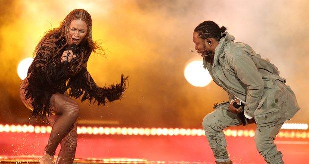Beyonce Kendrick Lamar 2016 BET Awards