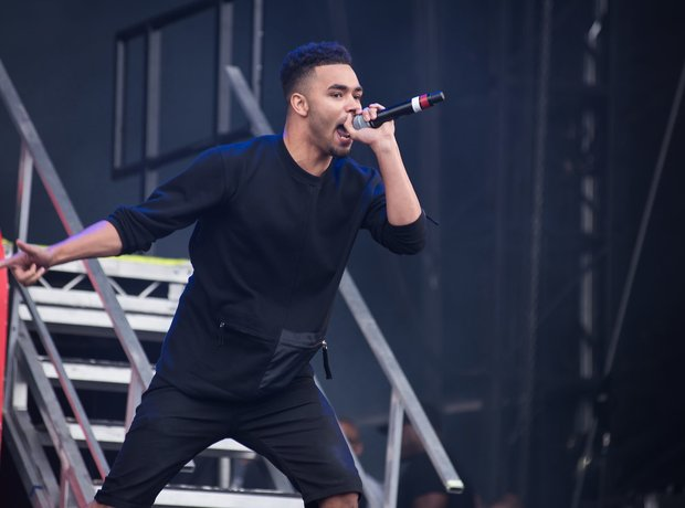 Yungen at Wireless Festival 2016