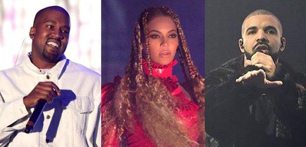 Drake Beyonce Kanye West