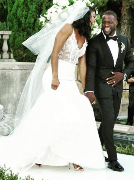 Kevin Hart Wedding Photos