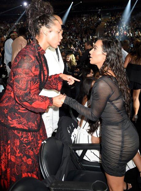 Alicia Keys Kim Kardashian MTV VMAs 2016