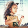 Image 3: Chris Brown's daughter Royalty modelling