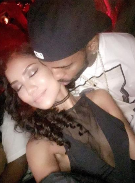 Big Sean and Jhene Aiko