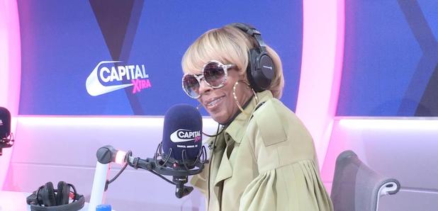 Mary J Blige on Capital XTRA