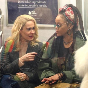 Rihanna Dreadlocks Subway Oceans 8