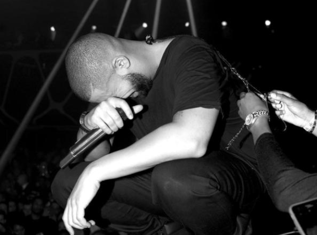 Drake performed at Hakkasan Nightclub on NYE