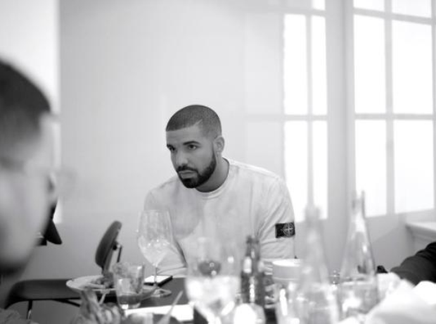 Drake attended a meeting in Amsterdam ahead of his
