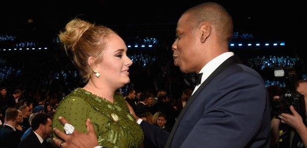 Adele and Jay Z Grammy Awards 2017