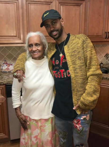 Big Sean and his Grandma