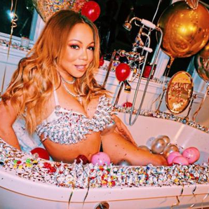 Mariah Carey Bathtub