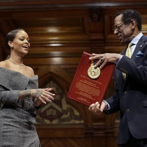 Rihanna at Harvard University