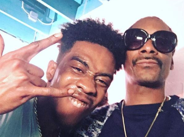Desiigner and Snoop Dogg