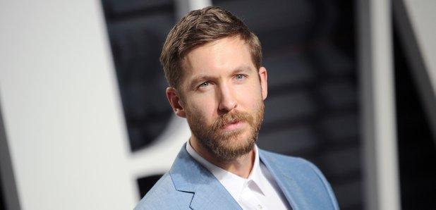 Calvin Harris at the 2017 Vanity Fair Oscar Party