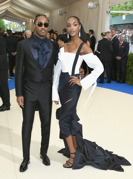 Future and Jourdan Dunn at the Met Ball 2017