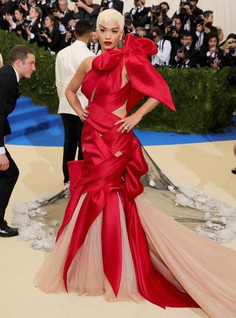 Rita Ora at the Met Gala 2017