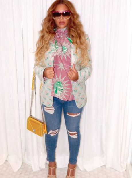 Beyonce on Instagram