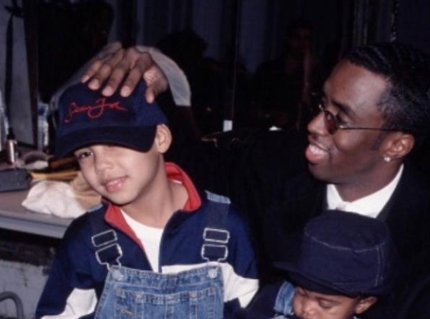 P Diddy and his son Quincy
