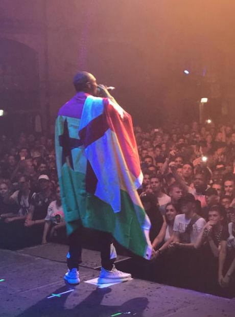 Stormzy celebrates a successful weekend of perform
